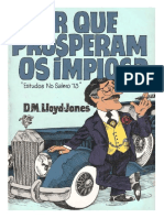 David Martyn Lloyd-Jones - Porque Prosperam Os Ímpios