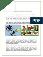 Biotecnología en nuestra alimentación