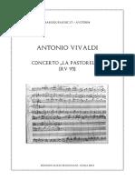 IMSLP338468-PMLP162108-Vivaldi Concerto La Pastorella RV 95 Score