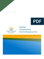 Fort St. John - Combat Black Knot Plant Pest Management Plan