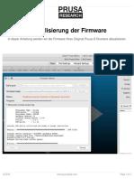 Firmware Upgrade Guide De