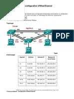 TP-6 Configuring EtherChannel