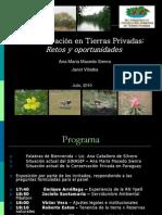 CONSERVACION en TIERRAS PRIVADAS - Ana Maria Macedo Sienra y Janet Villalba - Portal Guarani.com