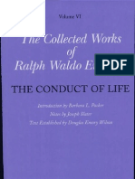 The Collected Works of Ralph Waldo Emerson- The conduct of life By Ralph Waldo Emerson- Barbara L. Packer- Joseph Slater- Douglas Emory Wilson