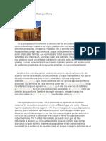 istoria de los Derechos Reales en Roma