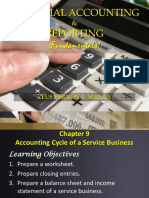 CHAPTER 9_ACCOUNTING CYCLE OF A SERVICE BUSINESS