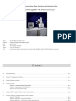 Handbook of Strata 235 Dual-Beam SEM, FIB electron microscope