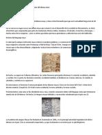 Línea histórica sobre el origen y evolución del idioma mam