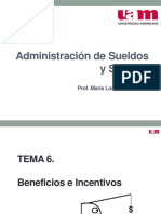 SS Tema 6 Beneficios Incentivos