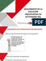 3. Diapositivas SEGUIMIENTO DE LA EJECUCIÓN DE ACTIVIDADES ATM 2020