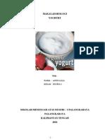 makalah biologi tentang yoghurt 3
