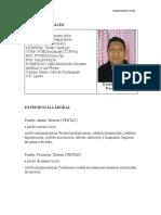 CV DAVID PUC - VACANTE