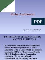 Ficha Ambiental 1