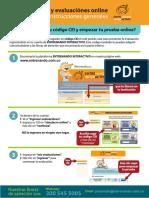 EntreNando - Instrucciones Para Ingreso - Prueba Online 09-2020