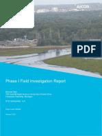 Morrow Dam Sediment Field Investigation Report