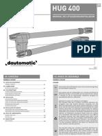 Dautomatic Hug400 Manual