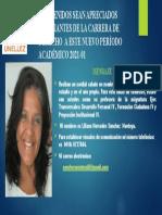 Bienvenida Estudiantes Carrera Derecho UNELLEZ  2021-01