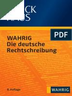 Wahrig 2011 Die Deutsche Rechtschreibung
