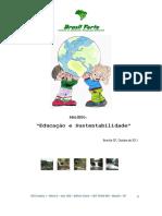 PROJ EDUCAÇÃO E SUSTENTABILIDADE CID OCIDENTAL-2011