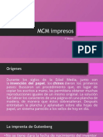 MCM impresos