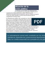 Conceptualización de la administración pública