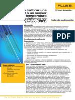 Cómo calibrar una RTD o un sensor de temperatura (Spanish)
