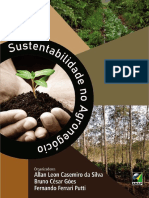 Livro -Sustentabilidade No Agronegócio
