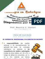 Farmacologia e Meios de Contraste Utilizado Em Diagnóstico Por Imagem - Prof. Mauricio E. Goulart