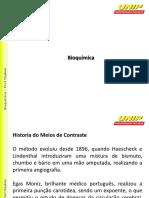 Histórioa do meio de contraste - Prof. Maykon