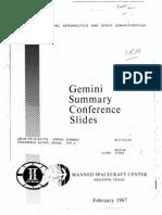 Gemini Summary Conference Slides
