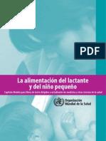 La alimentación del lactante y del niño pequeño (2010)