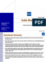 India Strategy - Aug 08