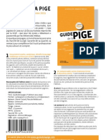 Guide de la Pige 2011