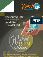 Brosur Wakaf Tunai Khairi