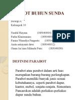 8 PPT PARABOT BUHUN SUNDA