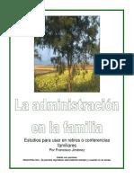 La administración de la familia