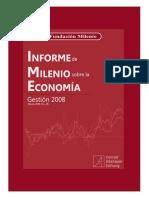 Informe de Milenio Sobre La Economía 2008 No. 26