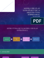 Modelo Del Plan Estratégico de La Arquitectura Empresarial_Ojeda Cerdan
