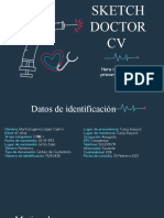 Sketch Doctor CV by Slidesgo