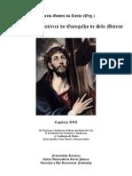 Interpretação Esotérica Do Evangelho de Mateus Cap 16