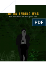 The UN ENDING WAR From Proxy War to Info War Against India