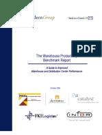 warehouse productivity benchmark report