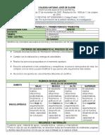 Secuencia Didac. 1 Biología Grado 6