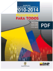 DNP - Plan Nacional de Desarrollo 2010-2014 Bases