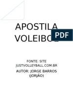 APOSTILA VOLEIBOL