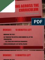Reading Across the Curriculum Starter PPT