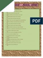 Modal verbs - rephrasing