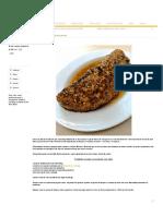 Fraldinha assada na mostarda com alho - COZINHANDO PARA 2 OU 1