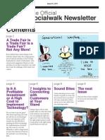 The Official SocialWalk Newsletter - Issue 1, Mar 2011