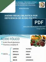 ANEMIA MEGALOBLASTICA X DEF AF